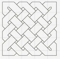 Celtic Knot Cross Stitch Chart: free download at Hancock's House of Happy