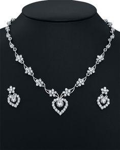 Cubic Zirconia Jewelry necklace  http://www.craftandjewel.com/servlet/the-1040/Cubic-Zirconia-Jewelry-necklace/Detail