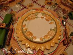 fall tablescape, sunflower, zinnia