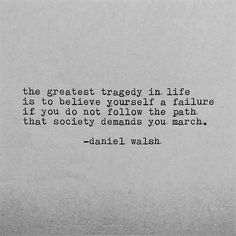 "@Regrann from @daniel.peter.walsh - ""Stray from the Path"" #85 by Daniel Walsh. #Regrann #instapoetry #inspiration #poetryisnotdead #typewriter#artcollective #artistsofinstagram #arty#authorsofinstagram"