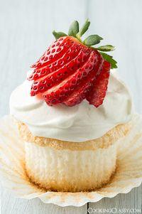 Angel Food Cupcakes | Pasión por la Cocina.....