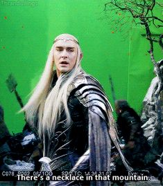 """""""The dwarves are indebted to me. I have a claim on their treasure."""" I said. """"Yes?"""" King Thranduil prompted. """"Your wife's necklace...I will find it for you."""""""
