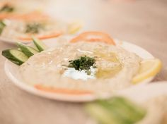 Rezept: Baba Ganoush nach syrischer Art zubereiten / recipe: Baba Ganoush,Syrian dish via DaWanda.com