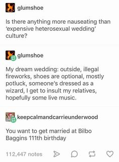 Heterosexual marriage jokes