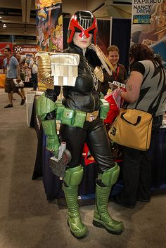 Judge Hershey (from the Judge Dredd universe) by PACsWorld #cosplay
