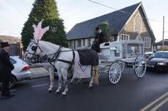I Bagpiped today, leading the funeral cortege #KilveyCarriageHire #SouthWales & many family & friends, to St. Glwadys Church in #Bargoed, for the very sad loss of baby Ava Grace, who passed recently. The interment followed at #Brithr Cemetery with the sound of 'Amazing Grace' reverberating across the valleys. My condolences to all the family.