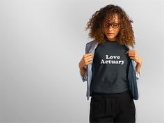 Are you a lover  and a modeler ? The best assesser of love risk ? Then you are a LOVE actuary! Show off your actuarial prowess  with this tee or purchase it for your favorite actuarial lover! Makes a great gift for your special someone! - Available on Amazon Prime in multiple styles sizes and colors. Check it out! Link in bio.  - : @placeitapp - - - #actuary #actuarylife #actuarialscience #math #mathematics #mathisfun #love #loveactuary #lovemath #lovenerds #loveshirt #shirt #shirts…