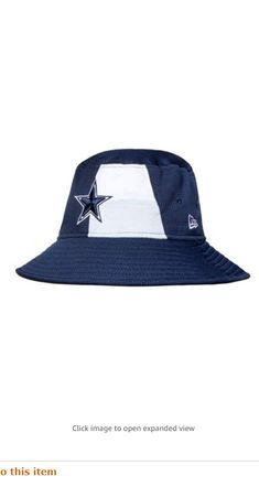 Dallas Cowboys New Era 2019 Draft Mens Bucket Hat All Nfl Teams, New Era Logo, Mens Bucket Hats, Flex Fit Hats, Delicate Wash, Dallas Cowboys, Future, Fabric, Style