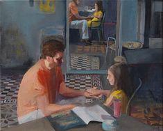 Μαρίνα Στελλάτου Painting, Art, Art Background, Painting Art, Kunst, Paintings, Performing Arts, Painted Canvas, Drawings