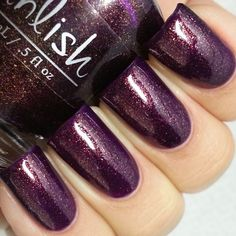 SLEEPING BEAUTY (has another name also) - Pahlish - stunning! NOTES: wonder how close it is to CORNATION?