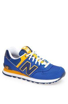 Nice. New Balance Blue Sneaker.