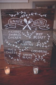 Trendy wedding signs rustic pallets front porches 67 Ideas - Decoration For Home Rustic Wedding Signs, Wedding Signage, Farm Wedding, Diy Wedding, Dream Wedding, Wedding Ideas, Wedding Menu Chalkboard, Rustic Signs, Trendy Wedding