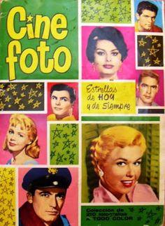"""COLECCIÓN CROMOS """"CINE FOTO"""" ESTRELLAS DE HOY Y DE SIEMPRE 1961"""
