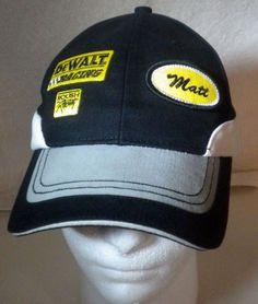 d877812025d NASCAR  17 Matt Kenseth DeWalt Ball Cap Roush Racing Adjustable Chase Hat…  Strapback Hats
