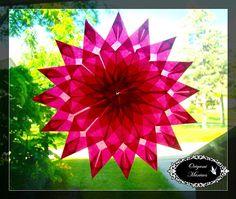 Origami Maniacs: Estrellas de Ventana de 16 Puntas