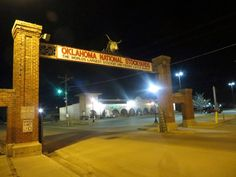 Oklahoma National Stockyards in Oklahoma City. Advertising Signs, California Homes, Peterbilt, Oklahoma City, Livestock, More Pictures, Cattle, Worlds Largest, Pens