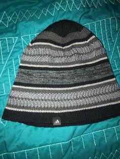 43ebd498683 Adidas Climawarm Beanie Men s Hat Grey Black Pattern Winter Cap  fashion   clothing  shoes  accessories  mensaccessories  hats (ebay link)