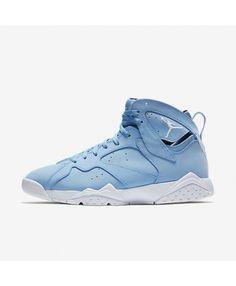 1104365499a5b2 Air Jordan 7 Retro University Blue White Black White 304775-400