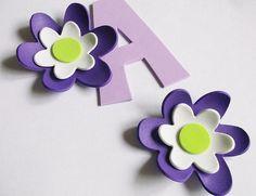 6 3d foam flowers ideal for foam crafts fofuchas by FofuchasDolls, $2.00