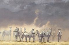 "Items similar to Zebra Art Print - ""Zebra Storm"" by Kim Donaldson on Etsy Zebra Art, Wildlife Art, African, Art Prints, Gallery, Handmade Gifts, Artist, Animals, Etsy"