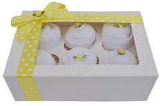 Beautiful Unisex Baby Boy/Girl Clothing by Baby Cupcake Gift, Baby Gift Box, Lemon Clothing, Sock Cupcakes, Baby Hamper, New Baby Boys, Unisex Baby, Inspirational Gifts, Washing Clothes