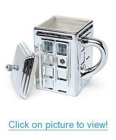 Doctor Who 3D Ceramic TARDIS Silver Mug Home #Office #Coffee #Mugs #Travel #Mugs