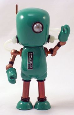 top Adult Collection Retro Wind Up Toy Metal Tin Moving Arms Swing Alien Robot Mechanical Clockwork Toy Figures Kids Gift Good Companions For Children As Well As Adults Toys & Hobbies