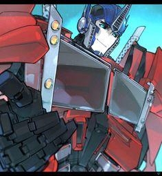 Optimus Prime - Transformers: Prime
