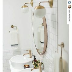 Hello dream bath via @sunwoven.  Just a tiiiiiny bit obsessed with our master bath and so are we. #bathdesign #interiordecor amazing  #weaver #artisian by dvdinteriordesign
