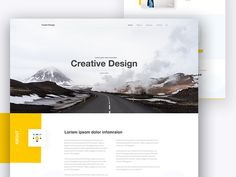 "BestofDribbble on Twitter: ""Creative Landing Page Design by Raaz  !! #dribbble #tech #design #webdesign #ux #ui https://t.co/rXBGNmA1wB"""