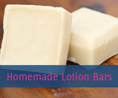 Moisturize your skin without chemicals and unnatural ingredients by using homemade coconut oil lotion bars.