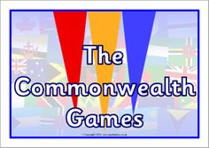 A colour poster heading for your Commonwealth Games classroom display. Commonwealth Games 2018, Game 2018, Free Teaching Resources, Classroom Displays, Olympic Games, Free Resume, Fun Games, Early Childhood, Olympics