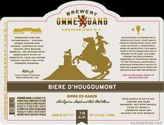 Brewery Ommegang - Biere D'Hougoumont Biere De Garde
