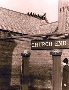 The Church End at Goodison Park, Everton in the Liverpool Town, Liverpool History, Bristol Rovers, Goodison Park, Football Stadiums, Football Art, Everton Fc, Leeds United, Vintage Football