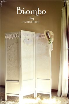 Shabby chic screen/room divider
