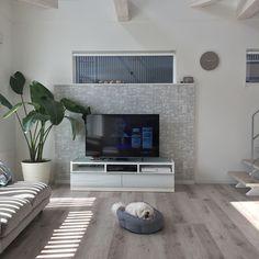 Living Room Decor, Flat Screen, Interior Decorating, Wall, Design, Home Decor, Furniture Ideas, Cosy Living Rooms, Home