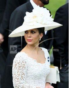 Princess Haya Bint Al Hussein of Jordan, Sheikha of Dubai, June 21, 2013 | The Royal Hats Blog