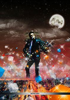 Gustavo Cerati Por: Martin Villamayor Soda Stereo, Rock Music, My Music, Rock Argentino, El Rock And Roll, Liev Schreiber, Film Music Books, Cool Wallpaper, My Favorite Music
