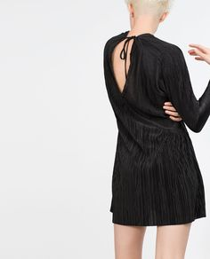PLEATED DRESS-View all-Woman-NEW IN   ZARA United States