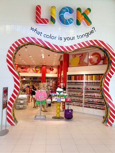 Retail design shop design sweet store interior candy store c Design Shop, Shop Front Design, Kids Store, Toy Store, Candy Store Design, Store Concept, Store Interiors, Chocolate Shop, Candy Shop