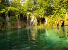 UNESCO site Plitvice Lakes National Park #Croatia - Chasing the Donkey