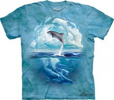 Dolphin Sky - The Mountain - Koszulka z delfinem - www.veoveo.pl