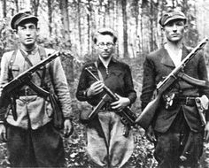Sovietic Partisans.