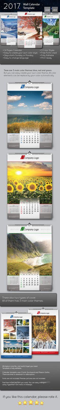 21 Best Calendar Templates For 2016 | Pinterest | Calendars 2016 ...