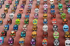 sugar skull for sale Mexican Skulls, Mexican Folk Art, What Is Rare, Skulls For Sale, Low Key, Artsy Fartsy, Halloween Party, Bones, Beaded Bracelets