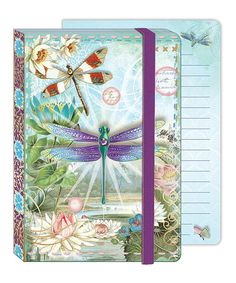 Take a look at this Dragonflies Soft Cover Bungee Journal by Punch Studio on #zulily today!