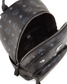 Sprinkle Logo-Print Backpack, Black
