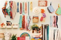 Accessory Wall at Rhymes With Orange