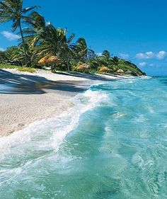 Saint Vincent Beautiful Clear Water Beach