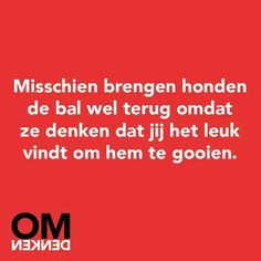 Omdenken Best Quotes, Funny Quotes, Life Quotes, Dutch Quotes, Just Smile, Animal Quotes, Quotes For Kids, Food For Thought, Beautiful Words